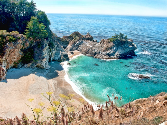 Overlook Trail to McWay Falls, Big Sur