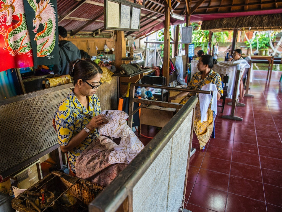 Experience the home made Batik of Ubud, Bali Ubud  Indonesia