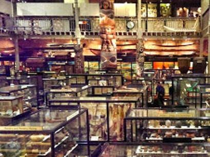Pitt Rivers Museum Oxford  United Kingdom