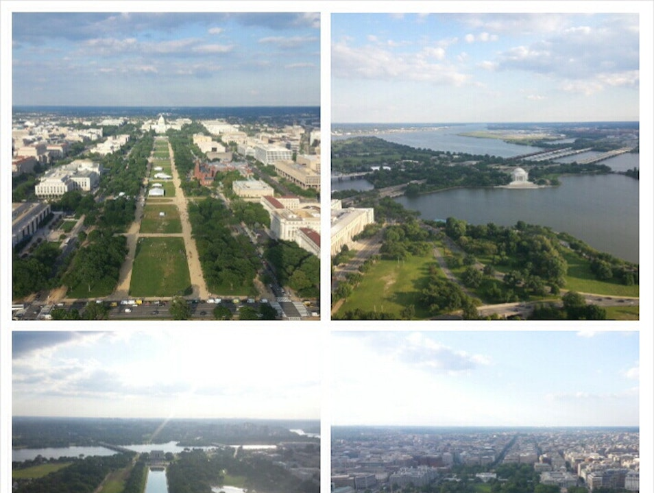 DC Beautiful from 500 Feet  Washington, D.C. District of Columbia United States