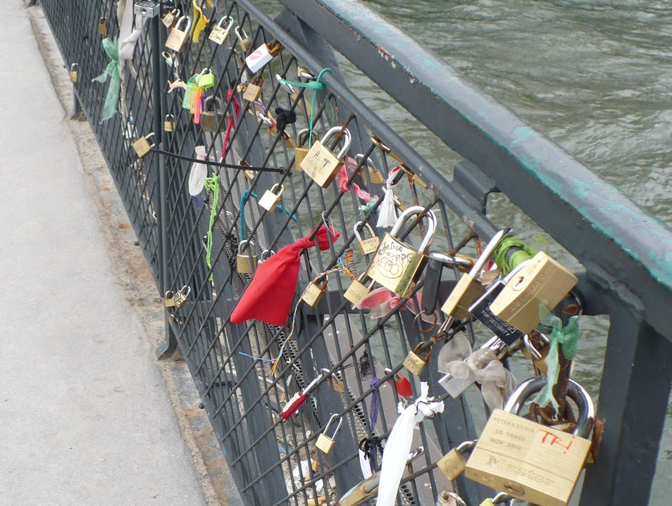 A lock on your heart Paris  France