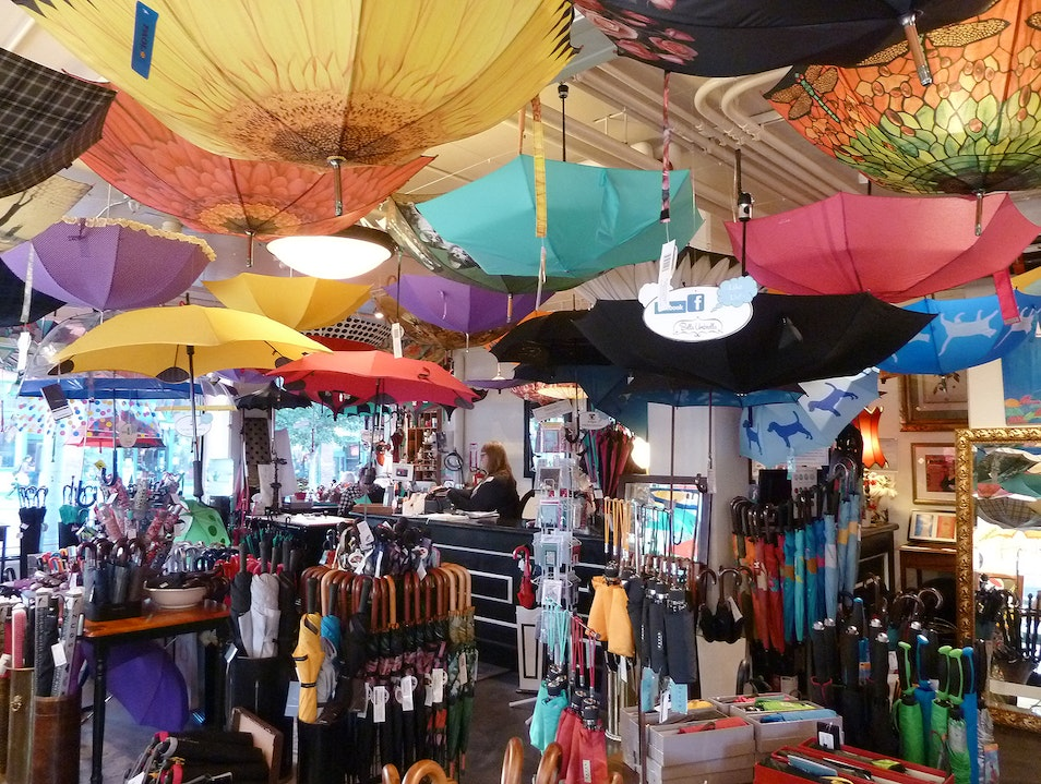 Beautiful Brollies at Bella Umbrella Seattle Washington United States