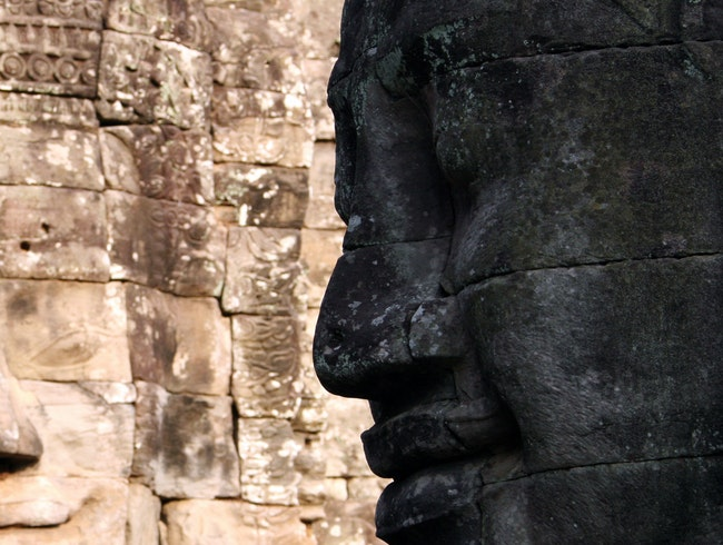 The faces of Angkor Wat