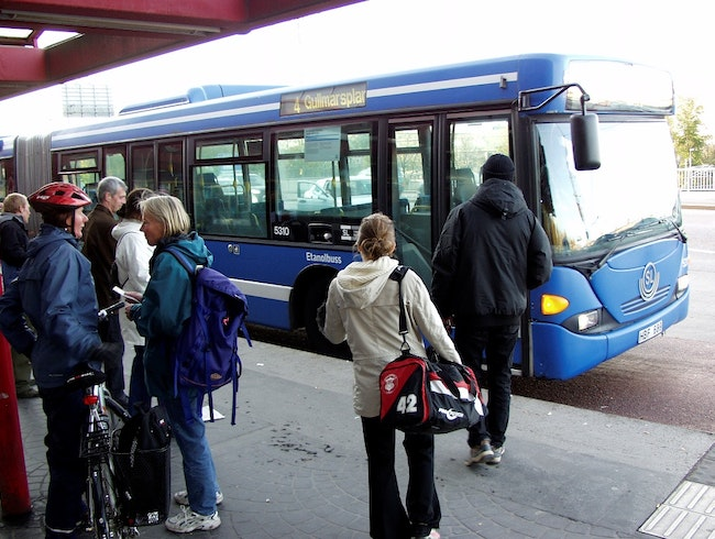 Navigating Stockholm with Public Transport