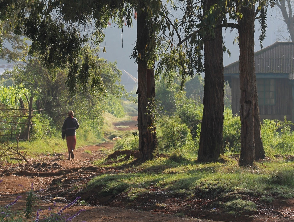 While Doing Good, Take a Surprisingly Scenic Walk Nyahururu  Kenya