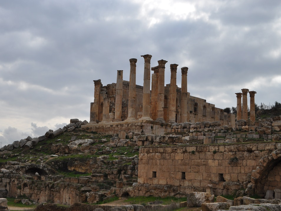 Discovering the ruins of the ancient city of Jerash  Jerash  Jordan