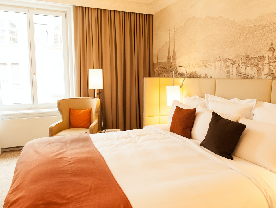 Relaxing Hotel in Historic City Center Lucerne  Switzerland