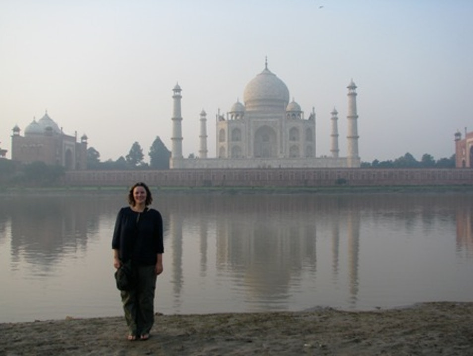 Making My Travel Dream a Reality: Sunset At Taj Mahal Agra  India