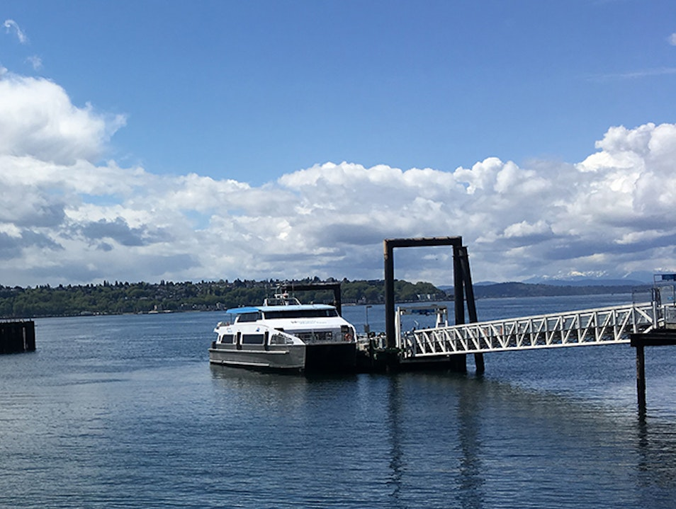 Water Taxi Seattle Washington United States