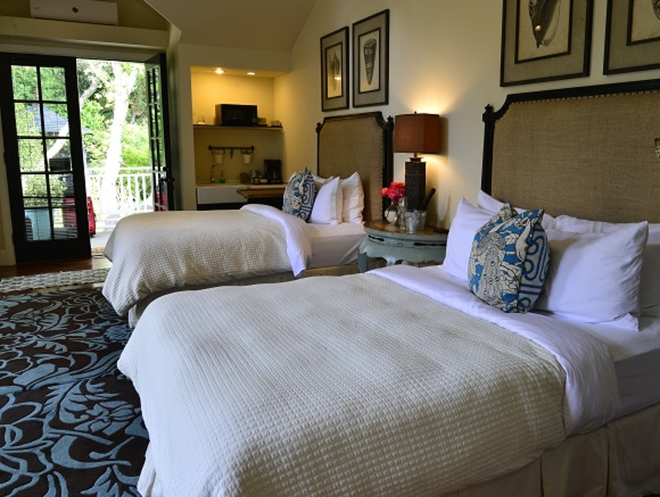 Gorgeous Rooms Tucked Around Gardens  Philo California United States