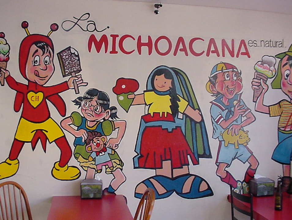 Stop for Sweet Treats from La Michoacana Mexico City  Mexico