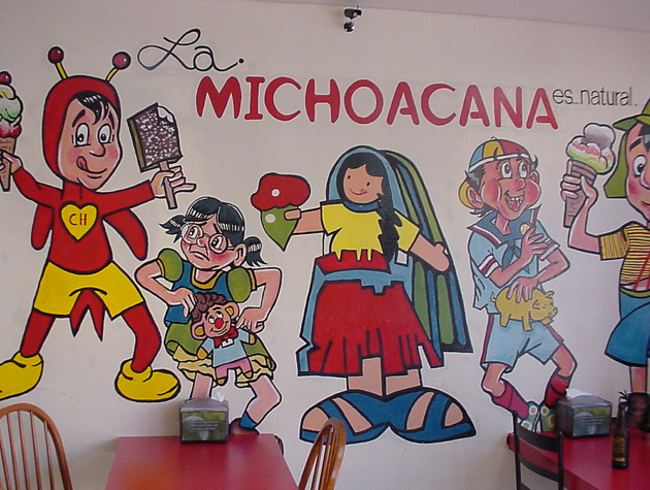 Stop for Sweet Treats from La Michoacana