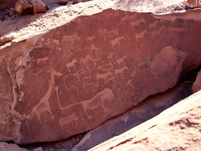 The Ancient Rock Art of Twyfelfontein