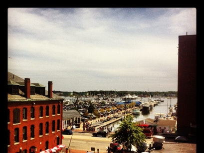 Old Port Portland Maine United States