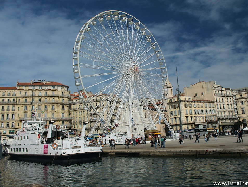 Marseille's Picture Perfect Vieux Port Marseille  France