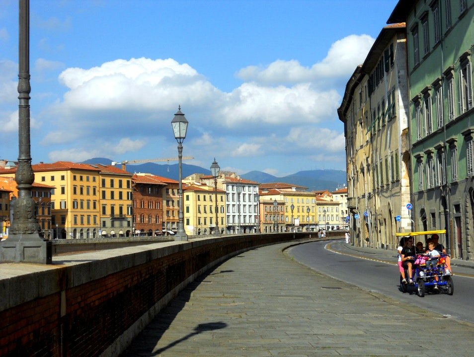 Downtown Pisa
