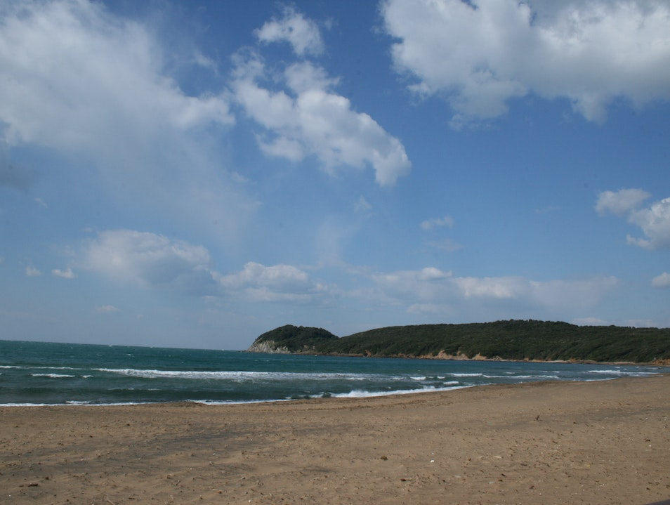 Bike Ride from San Vincenzo to Baratti Baratti  Italy