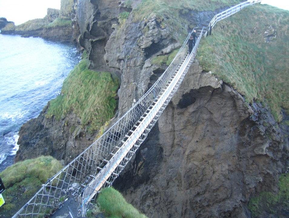 Carrick-a-Rede Rope Bridge Ballintoy  United Kingdom