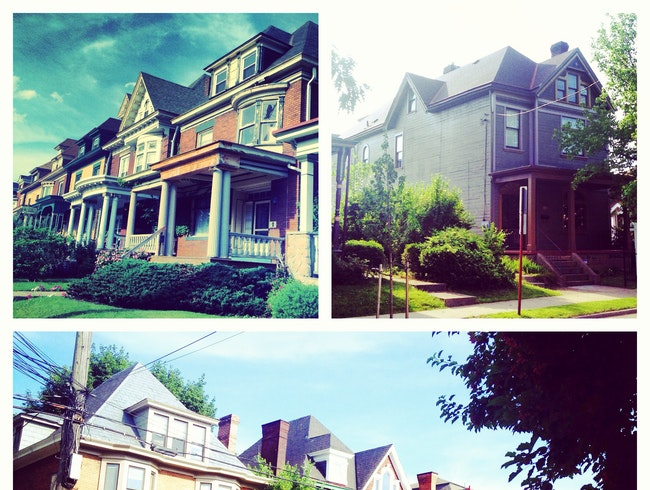 Victorian Houses in Friendship Neighborhood
