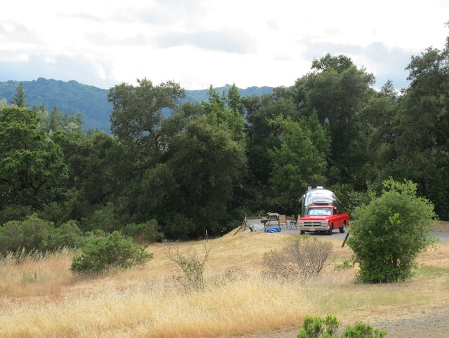 Camping in California Wine Country