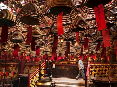 Man Mo Temple Hong Kong  Hong Kong