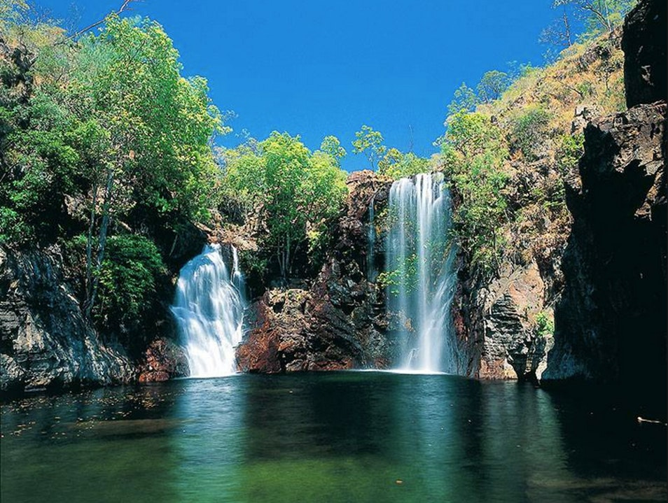 Take the plunge at Litchfield National Park Litchfield Park  Australia