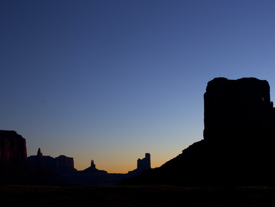Monumental Scenery Oljato Monument Valley Utah United States