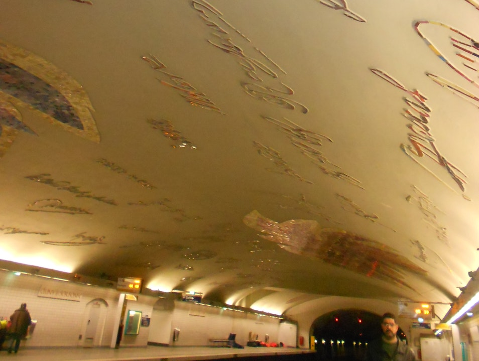 Sorbonne Metro Station Paris  France