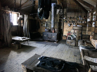 Shackleton's Hut, Cape Royds   Antarctica