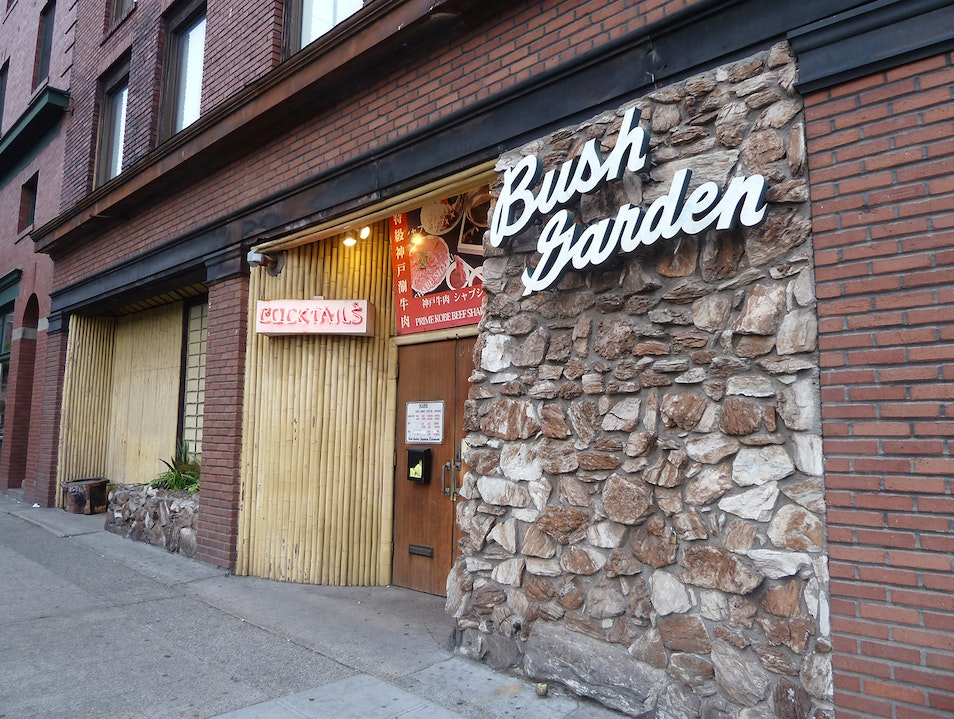 It's Always Karaoke Night at Bush Garden Seattle Washington United States
