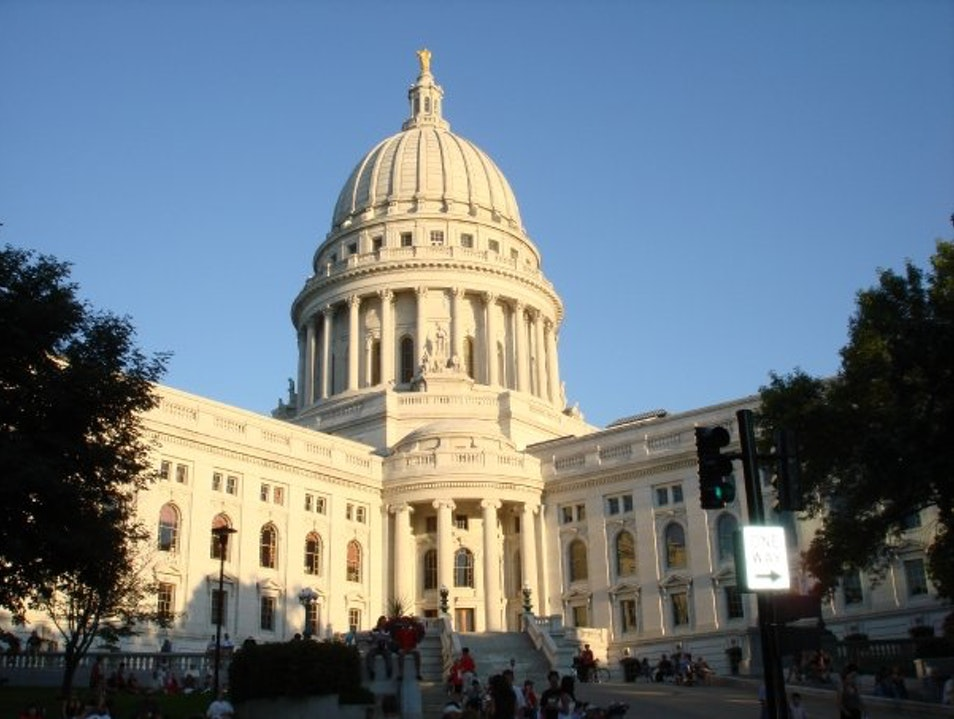 State Capitol Madison Wisconsin United States