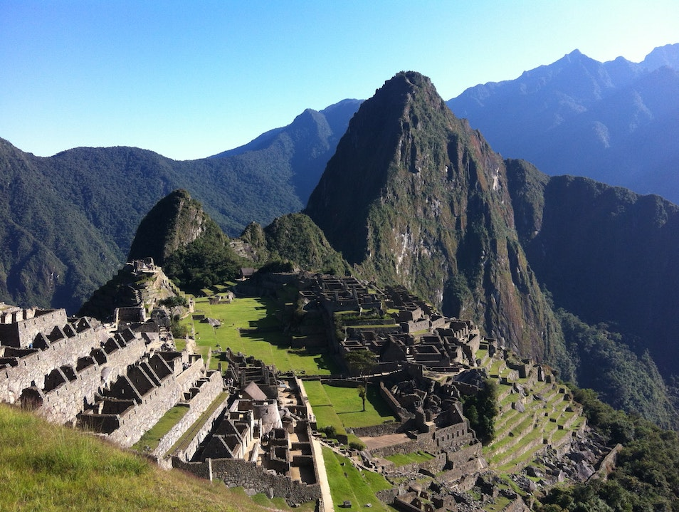 I'm so proud that I am human  Santuario Historico Machu Picchu  Peru
