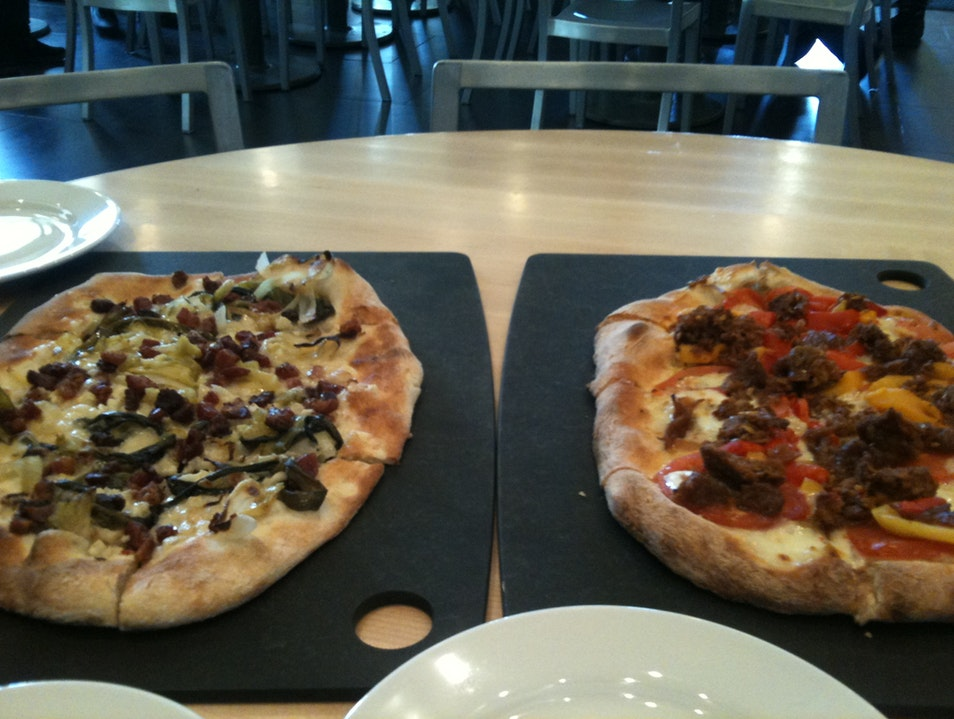 Wood-Fired Pizzas and Housemade Gelato