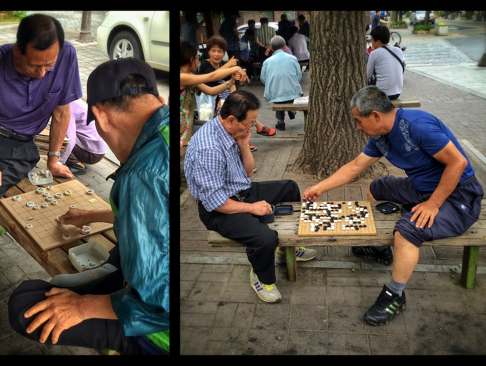 Jang-gi and Ba-duk: games on the streets of Jeonju
