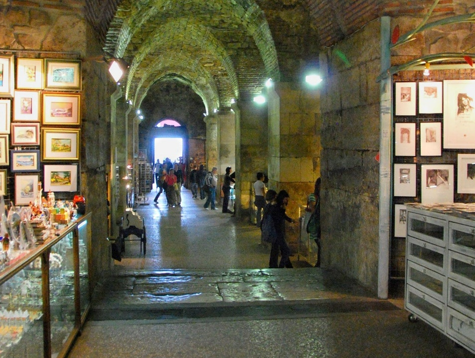 Shopping Under the Palace