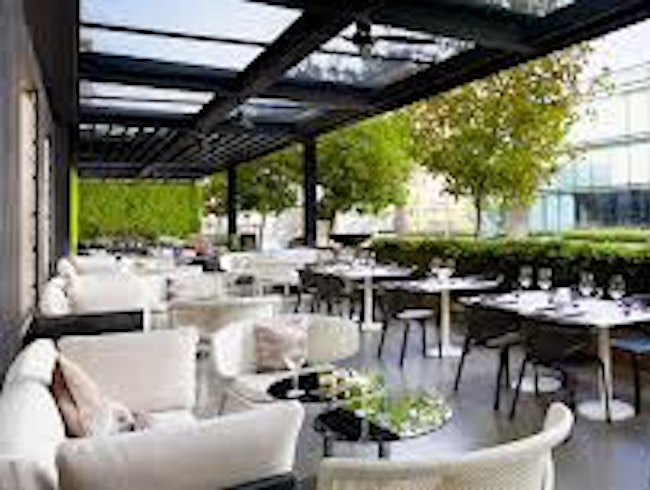 Terrace Time at the Ritz: Arola