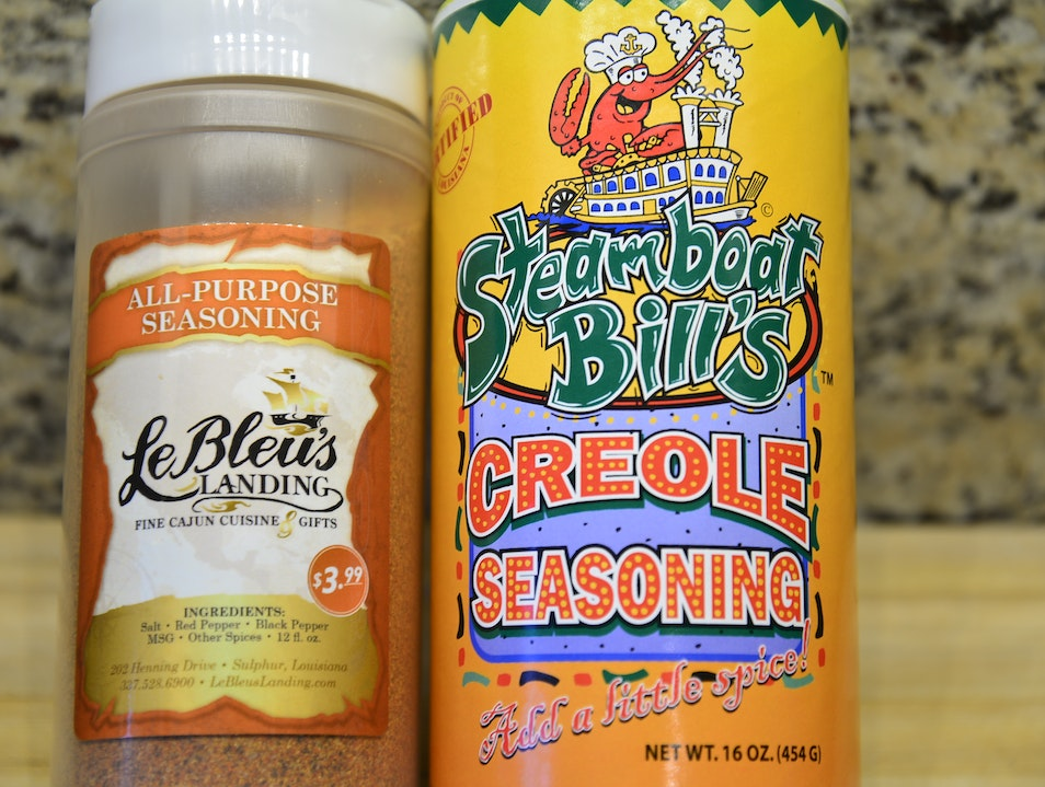 Edible Souvenir: Steamboat Bill's Creole Seasoning and LeBleu's Seasoning  Lake Charles Louisiana United States