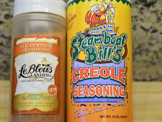 Edible Souvenir: Steamboat Bill's Creole Seasoning and LeBleu's Seasoning