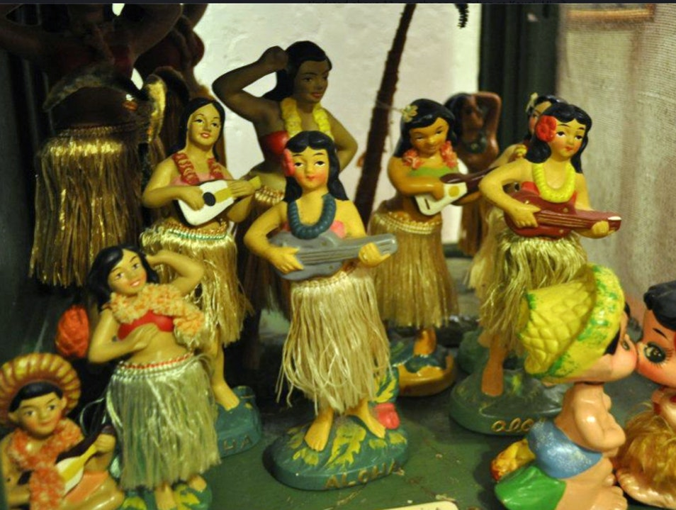 Vintage Hawaiiana Found at Yellowfish Trading Company Hanalei Hawaii United States