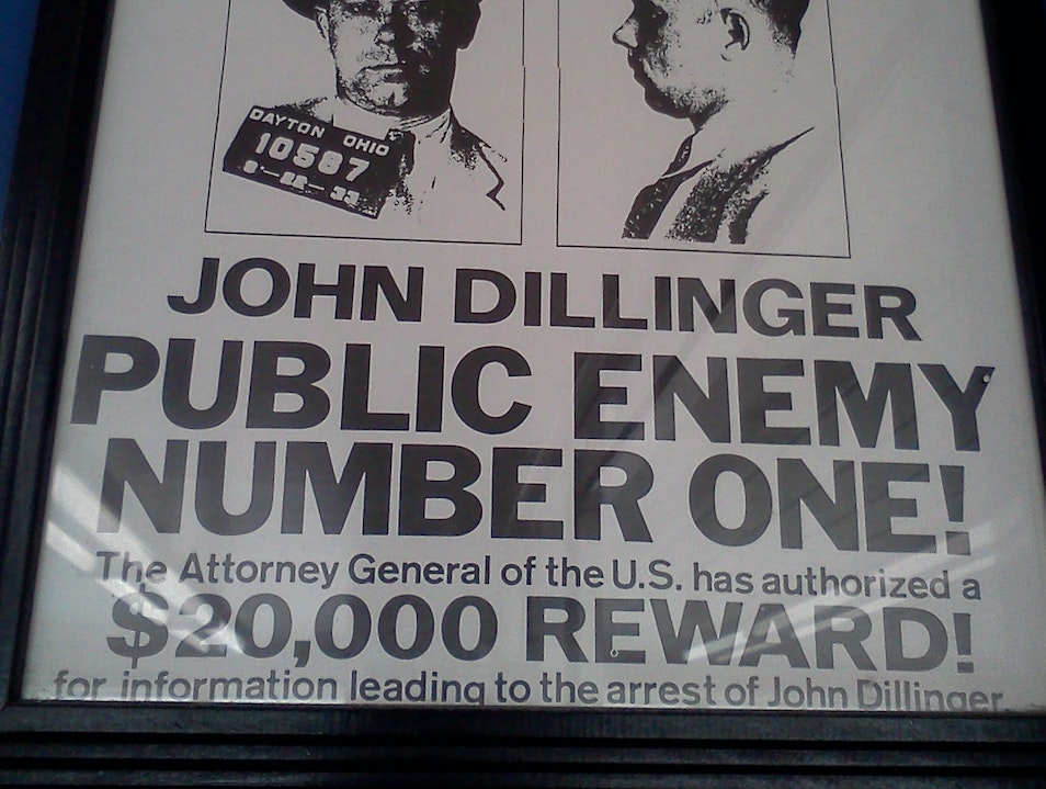 Serving Up Chicago Gangster History at Dillinger's Drive-In Calumet Park Illinois United States