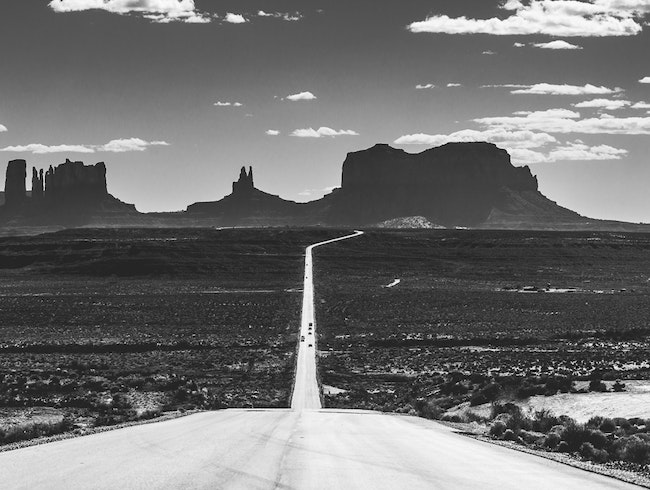 Go Gump in Monument Valley