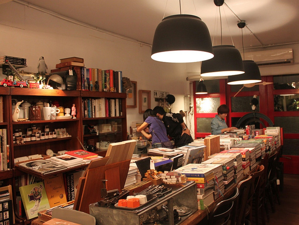 Wonderful hidden bookshop in the center of Taipei Taipei  Taiwan