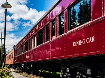 Lake Louise Railway Station & Restaurant Lake Louise  Canada