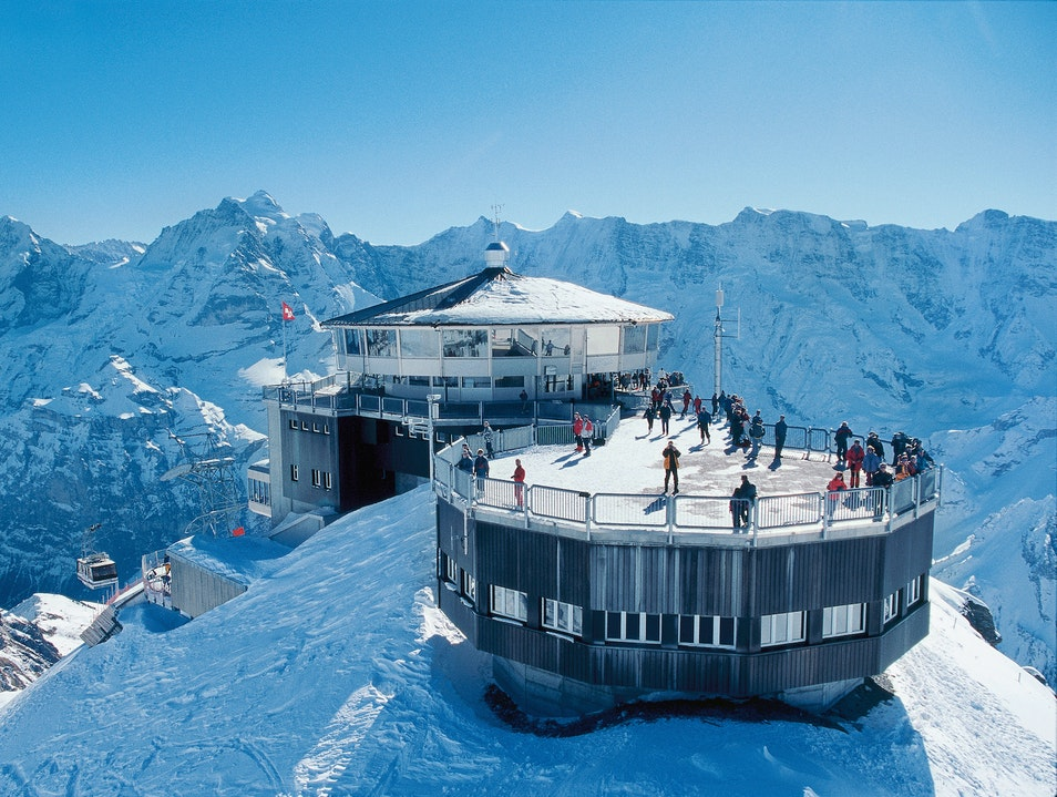 A Mountaintop Lair Mürren  Switzerland