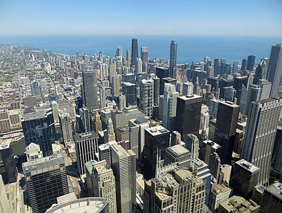 See Chicago from Above Chicago Illinois United States