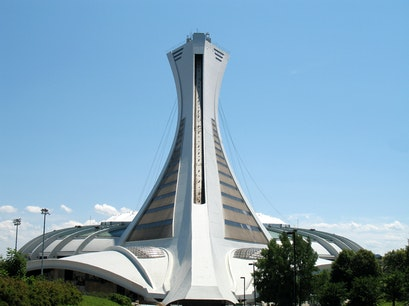The Olympic Stadium Montreal  Canada