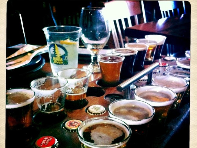Beer Tasting at Russian River Brewing Company