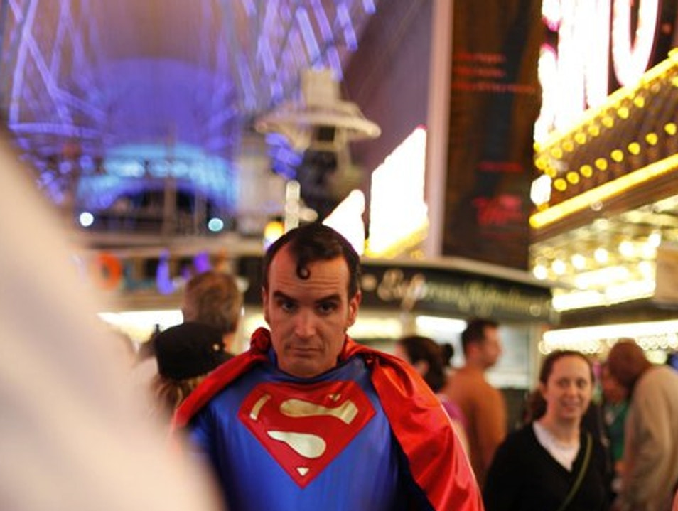 Confessions of a Super Hero Las Vegas Nevada United States