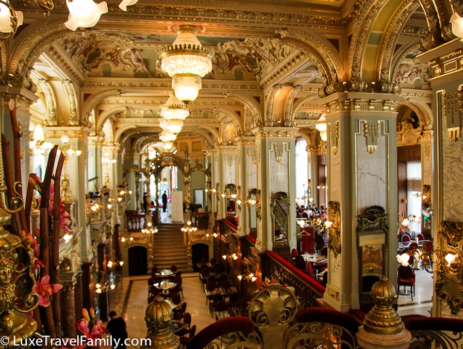 'The Most Beautiful Café in the World' Budapest  Hungary