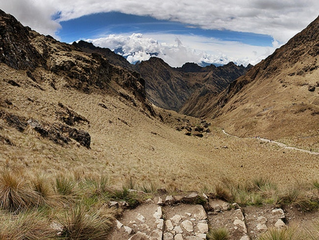 On Top of The Inca Trail